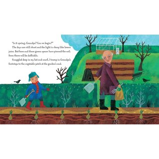 Barefoot Books Grandpa's Garden Paperback Book