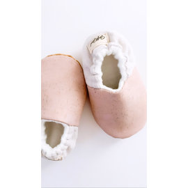 Soft Souls Monroe Colour Cork/Cotton Soft Sole Baby Shoes