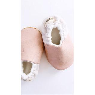 Soft Souls Monroe Colour Cork/Cotton Soft Sole Baby Shoes