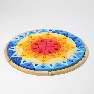 Grimms Sparkling Mandala Large Sun by Grimms
