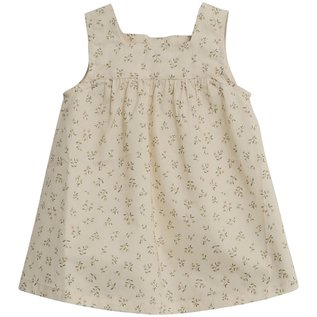WHEAT KIDS 'Ayla' Style Eggshell Flowers Print Dress by Wheat