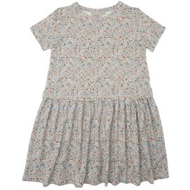 WHEAT KIDS 'Adea' Style Dusty Dove Flowers Dress by Wheat