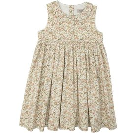 WHEAT KIDS 'Elia' Style Eggshell Flowers Dress by Wheat