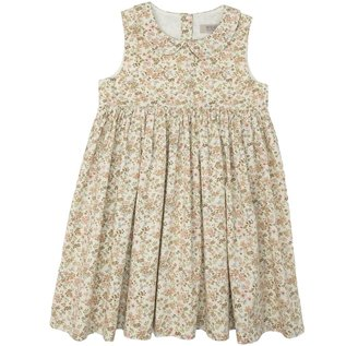 WHEAT KIDS 'Elia' Style Eggshell Flowers Dress by Wheat