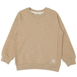 WHEAT KIDS 'Johan' Style Sand Melange Sweatshirt by Wheat Kids