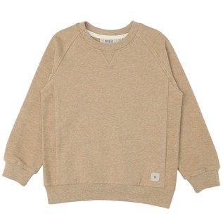 WHEAT KIDS 'Johan' Style Sand Melange Sweatshirt by Wheat Kids