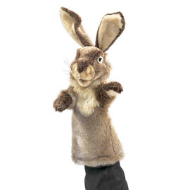 Folkmanis Puppets Rabbit Stage Puppet Hand Puppet