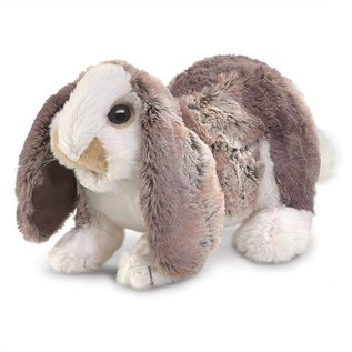 Folkmanis Puppets Baby Lop Rabbit Hand Puppet