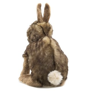Folkmanis Puppets Cottontail Rabbit Hand Puppet