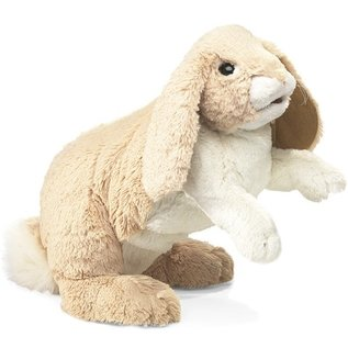 Folkmanis Puppets Floppy Bunny Rabbit Hand Puppet by Folmanis