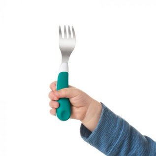 Oxo Tot On the Go Fork + Spoon Set with Travel Case