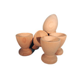 Natural Wood Egg Cup