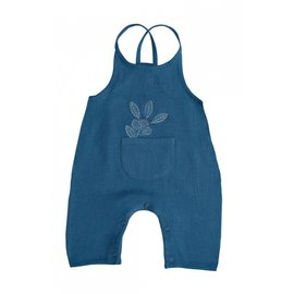 Moulin Roty Bernice Blue Strappy Dungarees by Moulin Roty