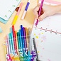 Ooly Rainbow Sparkle Glitter Markers (15-Pack)