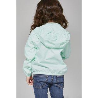 Waterproof, Packable, Breathable Jacket (Mint Colour)