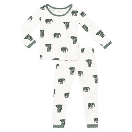 Kyte Baby Elephant Print Bamboo PJs by Kyte