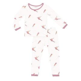 Kyte Baby Hummingbird Print Bamboo PJs by Kyte