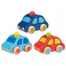Goki Wooden Push Cars