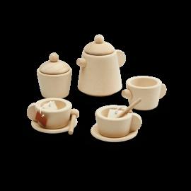 Plan Toys Wooden Tea Set by Plan Toys