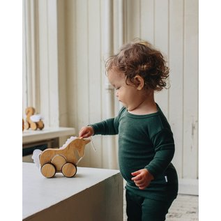 Kinderfeets Bamboo Push/Pull Unicorn Toy