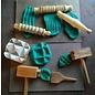 Play Dough Wooden Tool Set