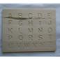 Wooden Alphabet Tracing Board (Upper+Lower Case)