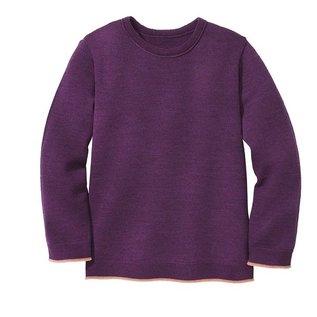 Disana Plum Colour Wool Sweater by disana