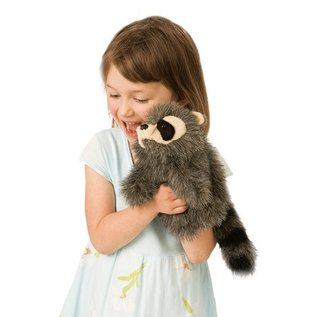 Folkmanis Puppets Baby Raccoon Hand Puppet
