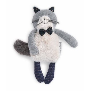 Moulin Roty Fernand the Cat Soft Toy (19cm) by Moulin Roty