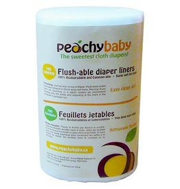 Peachy Baby Peachy Baby Flushable Liners (100/Roll)