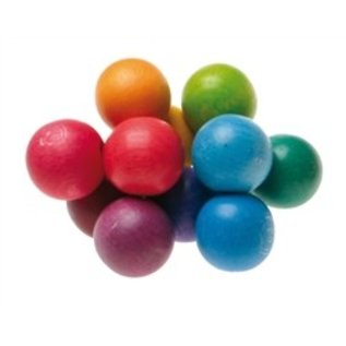 Grimms Rainbow Coloured Bead Grasper Toy by Grimms