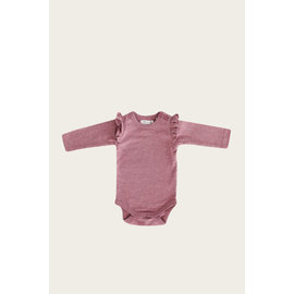 Jamie Kay Berry Fizz Colour Frill Bodysuit L/S by Jamie Kay