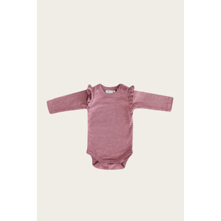 Jamie Kay Berry Fizz Colour Frill Bodysuit L/S by Jamie Kay