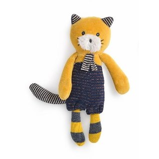 Moulin Roty Lulu the Cat Soft Toy (19cm) by Moulin Roty
