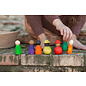 Grapat Wood Together Coloured Nins 12 Piece Set