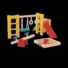 Plan Toys Playground Set - Dollhouse Furniture by Plan Toys