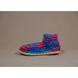 Padraig Youth Padraig Slippers with Wool Sheepskin & Leather