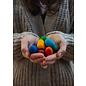 Grapat Wood Mandala Rainbow Eggs by Grapat