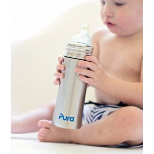 Pura Stainless Steel Toddler Sippy Cup 11oz by Pura Kiki