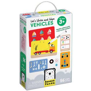 Banana Panda Let's Write & Wipe Vehicles (Ages 3+)