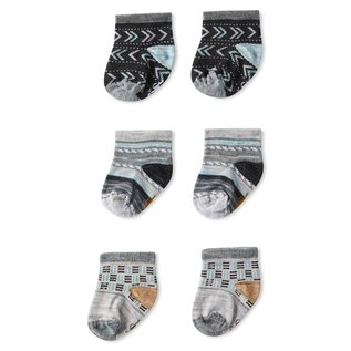 Smartwool Ash Colour Toddler Trio Pack Smartwool Socks