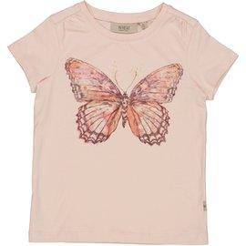 WHEAT KIDS Powder Pink Butterfly T-Shirt by Wheat