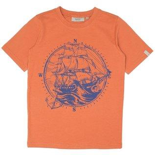 WHEAT KIDS Sailing Ship T-Shirt by Wheat Kids