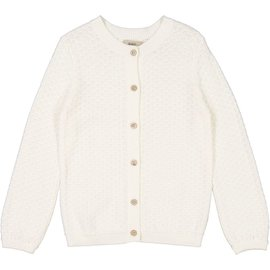WHEAT KIDS Ivory Knit Cardigan 'Magnella Style' Cardigan by Wheat Kids