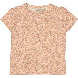 WHEAT KIDS T-Shirt 'Milka' Moonlight Flowers Print by Wheat