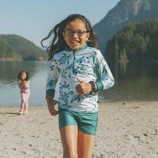Honeysuckle 'Turtley Cute' Print Rashguard UV Protection Shirt