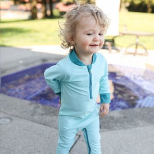 Honeysuckle Mad About Blue UV Protection One Piece Suit