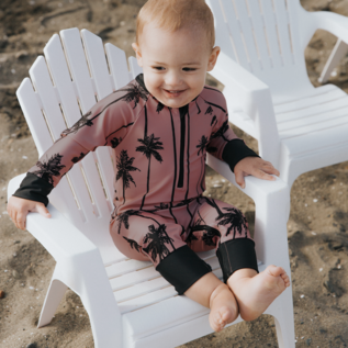 Honeysuckle Keep Palm & Carry On' Print UV Protection One Piece Suit