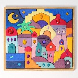Grimms Sparkling Orient Building Set by Grimms
