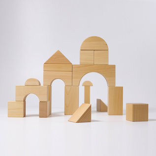 Grimms Natural Giant Wooden Blocks by Grimms